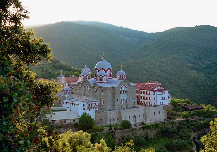 Ильинский скит на горе Афон