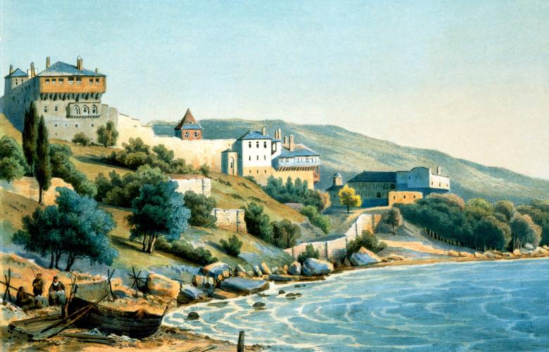 Русский Пантелеимонов монастырь в первой половине XIX в.