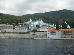 Свято-Пантелеимонов монастырь. Фотография 2012 г.