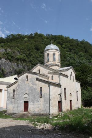 Храм святого апостола Симона Кананита. Новый Афон. Фотография 2011 г.