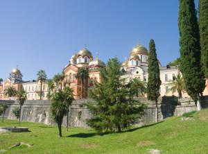 Ново-Афонский монастырь в настоящее время
