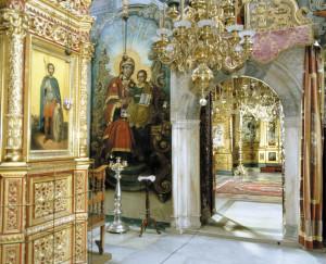 Притвор собора Святого великомученика и целителя Пантелеимона