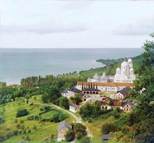 Ново-Афонский Симоно-Кананитский монастырь. Фотография начала XX в.
