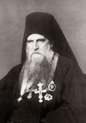 Игумен Пантелеимонова монастыря схиархимандрит Макарий