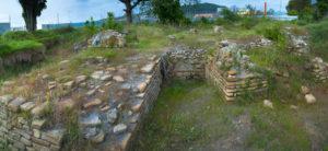 Остатки храма в Имеретинской низменности.