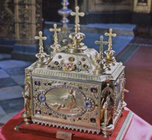 Ковчег в честной главой св. великомученика Пантелеимона