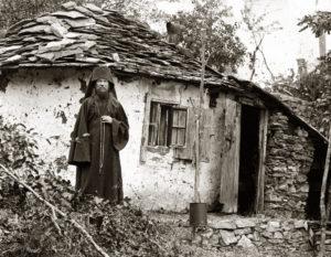 Монах-пустынник. Начало XX в.
