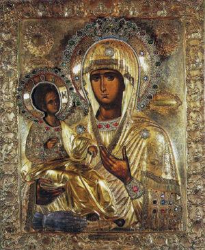 Икона Матери Божией «Троеручица»